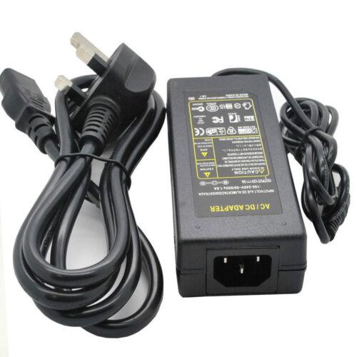 12 V 6 Amp AC Adapter Power Supply for LCD CCTV Camera DEL Strip Light 12 V 6 A