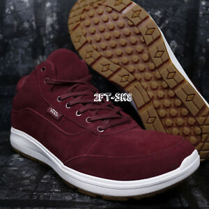 453d2f3cb3 VANS STYLE 201 PERF MADDER BROWN TRUE WHITE MEN S ATHLETIC SHOES ...