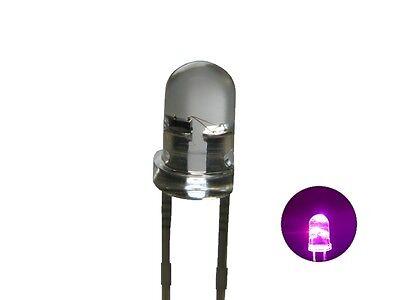 S249-20 Pezzi Flacker Led 3mm Fucsia Trasparente Luce Tremolante Con Comando Last Style Lamps & Lights Toys & Hobbies