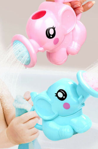 Child Kids Baby Swimming Bath Toys Small Elephant Watering Pot Showering Gift