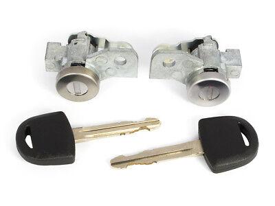 ISUZU D-MAX 02-10 LOCKSET LEFT RIGHT FRONT DOOR LOCK BARREL WITH KEYS ;;;