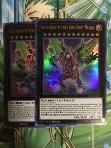 Super Quantal Mech King Great Magnus DUPO-EN093 Ultra Rare Yu-Gi-Oh Card 1st New