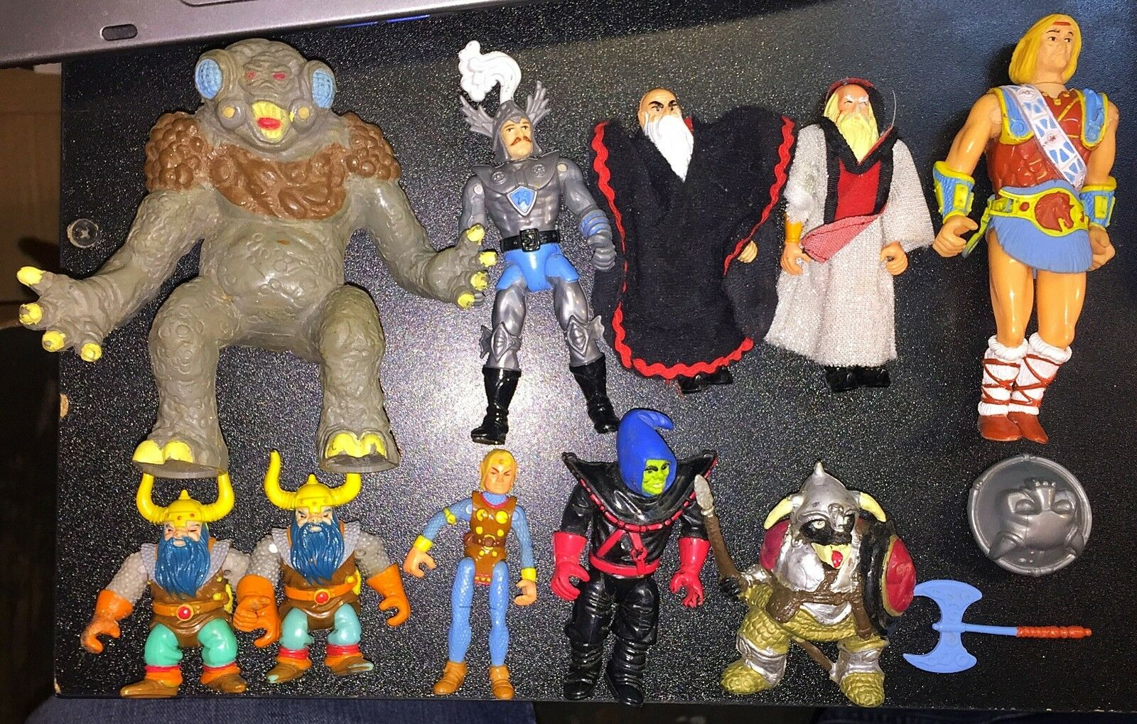 Dungeons and Dragons Lot LJN TSR Elkhorn Melf Peralay Northlord Umber Hulk Orc