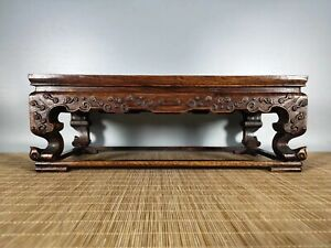 16-039-039-Chinese-Antique-Table-natural-Rosewood-wood-tea-table-shell-Table-LHM