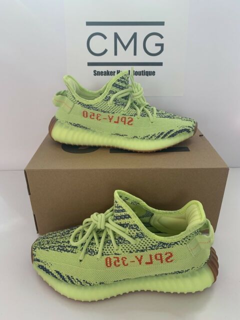 new concept dd332 3d18d adidas Yeezy Boost 350 V2 Frozen Yellow Semi Frozen B37572 Authentic Size 7
