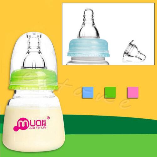 1Pc Baby Infant Newborn 80ML Bottles Small PP Care Nursing Feedingt Juice Milk