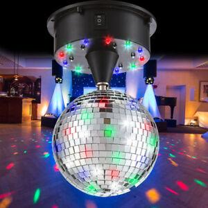 LED Disco Kugel DJ Party Kinder Zimmer Spiegel 13 cm Geburtstag ...