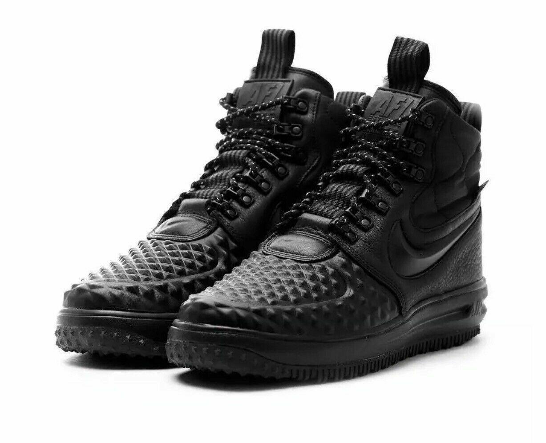 Nike Men's Lunar Force 1 LF1 Duckboot 17 Black Anthracite 916682-002