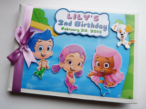 ANY DESIGN PERSONALISED DISNEY LITTLE MERMAID BIRTHDAY GUEST BOOK