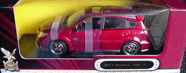 2003 Pontiac Vibe RED 1 18 Road Legends YatMing 92508