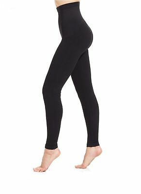 Slimming High Waisted Control Leggings Extra Strong Firm Tummy Support 8-26