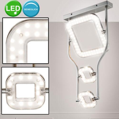 Luxus Decken LED Spot Lampe Strahler beweglich DESIGN Leuchte Beleuchtung Chrom