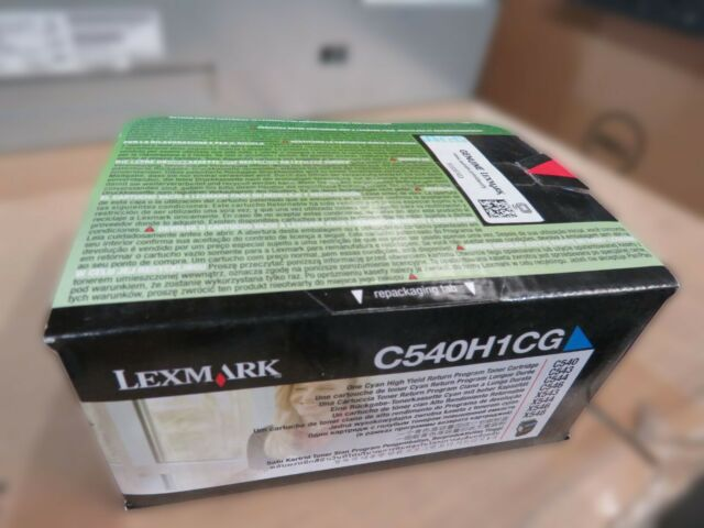 Lexmark C540H1CG Yellow Toner Cartridge Original #B33