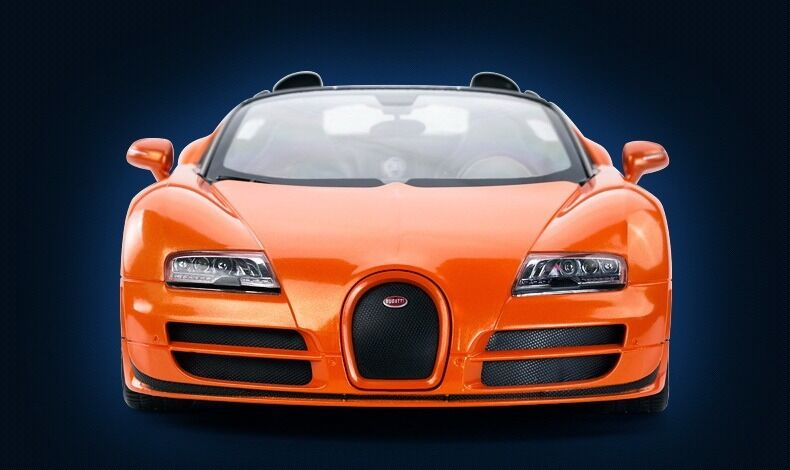 1 14 Bugatti Grand Sport Sport Sport Vitesse Radio Remote Control Car R C RTR orange aedd97