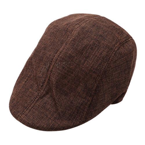 Beret Cap For Men Temperament Caps Clothing Accessories Soft Breathable Flat WE