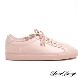 NIB-Common-Projects-Woman-Blush-Pink-Leather-Premium-Low-Sneakers-39-Italy-NR