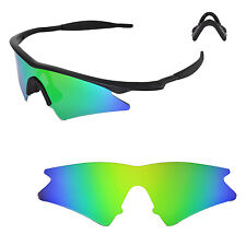 WL Polarized Emerald Replacement Lenses For Oakley New M Frame Sweep Sunglasses