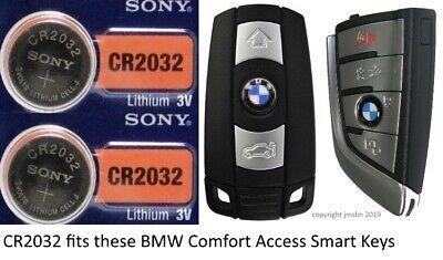 2 Pk Remote Key Fob /& Smart Keyfob Energizer Battery CR2032 Fits Lincoln