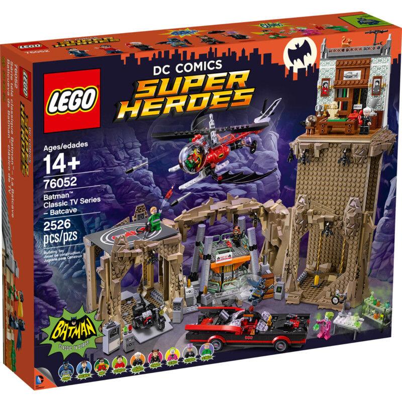 LEGO 76052 Batman Classic TV Series - Batcave - Lego DC Comics NEW in box