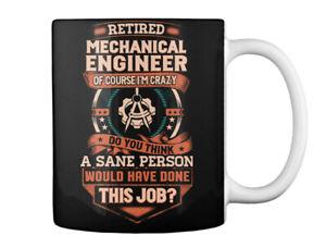 Stylish Retired Mechanical Engineer Gift Coffee Mug Gift Coffee Mug