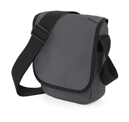 BAGBASE Mini Reportertasche Schultertasche Collegetasche Umhängetasche NEU