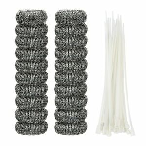 20-PCS-Lint-Traps-Washing-Machine-Snare-Laundry-Mesh-Washer-Hose-Filter-With-Tie