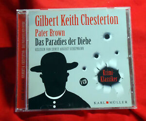 Pater-Brown-Das-Paradies-der-Diebe-Gilbert-Keith-Chesterton-Hoerbuch-CD