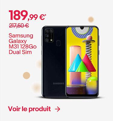 Samsung Galaxy M31 128Go Dual Sim - 189,99 €*