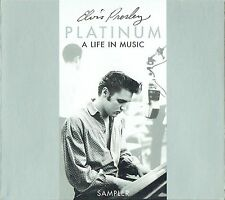 Elvis Presley - Platinum: A Life In Music - Sampler - Sealed Digi Pack CD