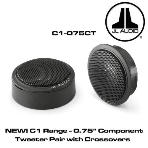 "C1 0.75/"" componente Tweeter par con cruces 150W JL Audio C1-075CT"