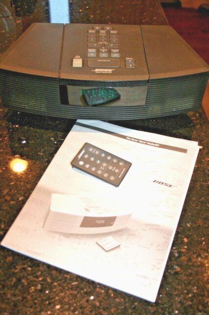 Bose wave radio/cd manual.