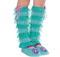 Disney Princess Ariel Leg Warmers - Child Size -new