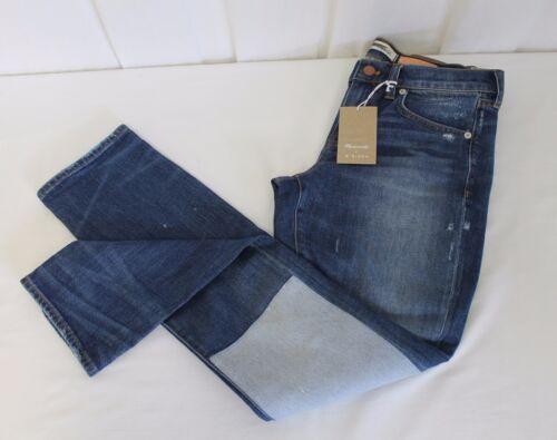 Nwt 50 B Slim Vintage Sides X Størrelse Boyjeans Madewell 198 Denim 27 Reworked fHAWx