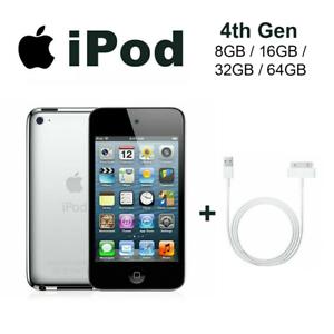 Apple iPod Touch 4th Generation - Black/White - 8GB/16GB ...