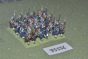 25 mm napoléonien / français - Régiment 24 figurines Inf (35556)