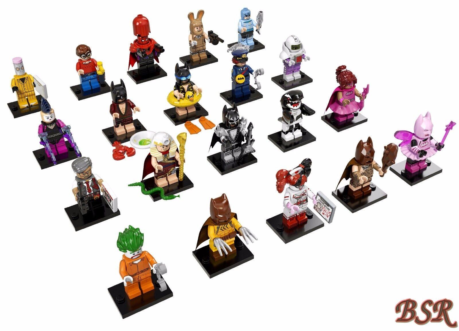 71017 LEGO® komplette Sonder-Serie - The Batman Movie mit 20 Minifiguren   NEU