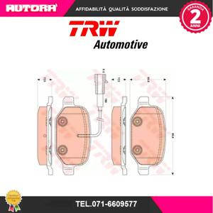 GDB1881-Kit-pastiglie-freno-a-disco-post-Alfa-Romeo-Mito-955-MARCA-TRW