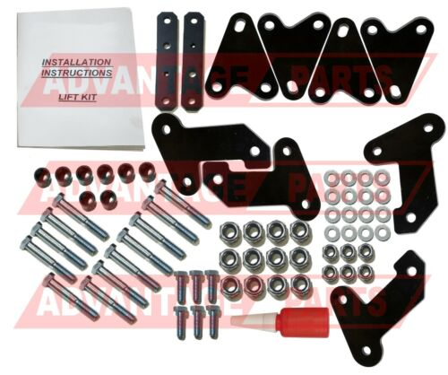 "4/"" Inch Utv Lift Kit Set Fits Polaris Ranger XP 1000 Crew EPS SE 2017 17"