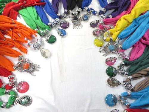 20pcs wholesale Jewelry pendant necklace scarves bulk lot