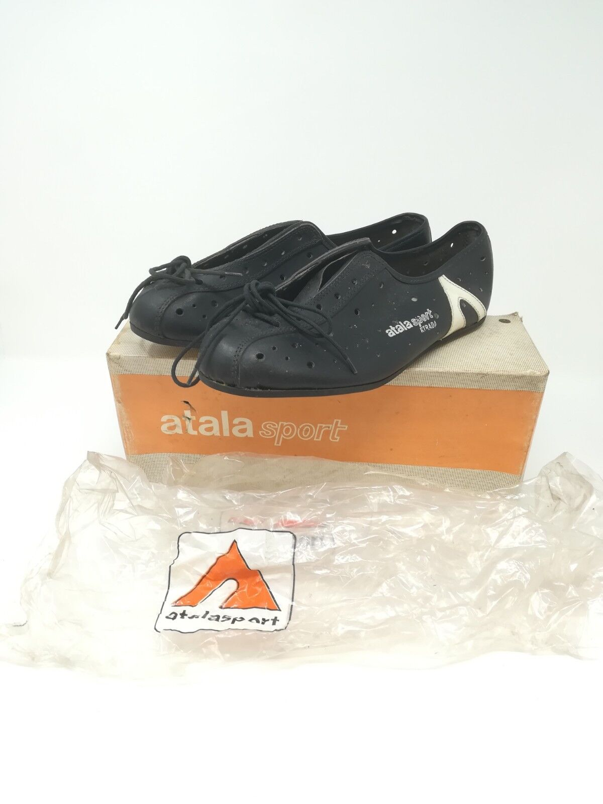 Vintage scarpe ciclismo cycling scarpe  Atala sport Strada  39 NOS