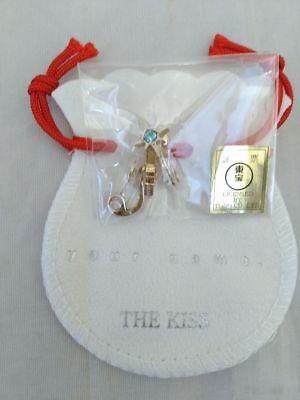 Kimi no na wa x THE KISS /& BANDAI Earrings Gold from Japan NEW Your name