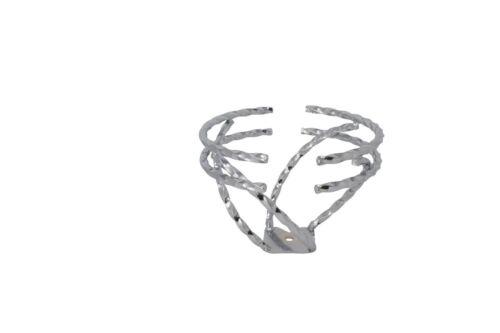 FENIXLOW RIDER LOWRIDER BIKE BICYCLE SWIRL 1//2 DOUBLE TWIST STEERING WHEEL CHROM
