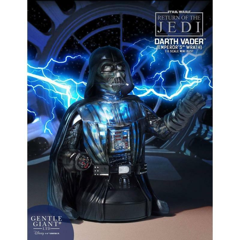 estrella guerras Gentle Giant Mini autobust Darth Vader Emperors Wrath
