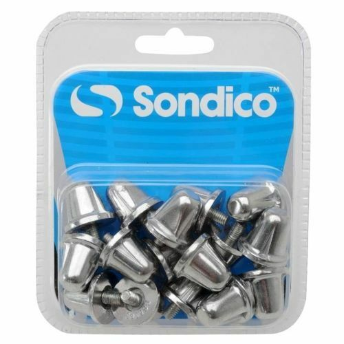 83dfb2ce4c34b0 Sondico Aluminium Rugby Stud Replacement Pack of 16 Silver S161 for sale  online | eBay