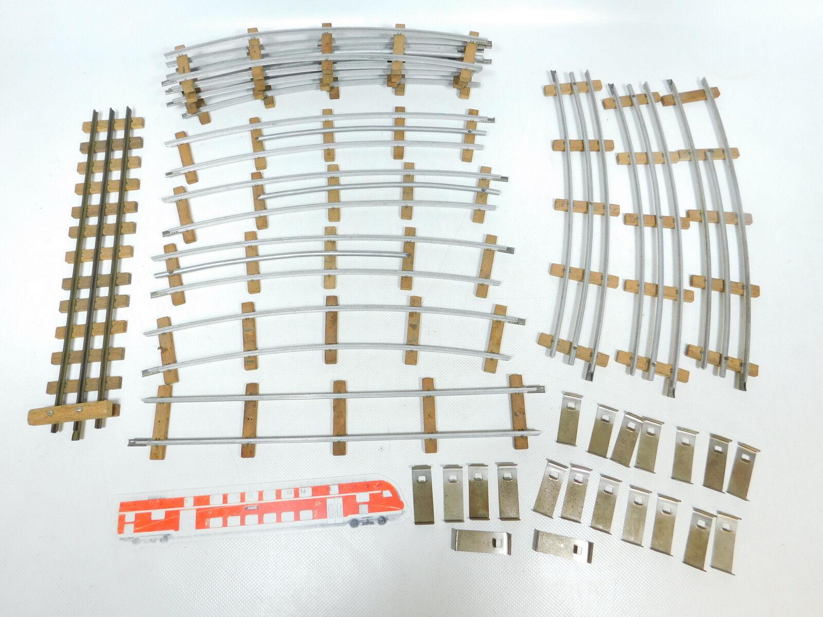 Bx463-2 x Buco Escala 0 Bastler-Gleis Piezas de vía con Umbral