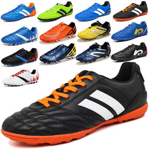 Men Indoor Soccer Shoes TF Turf Soccer Cleats Football Trainers ... 071f329432a