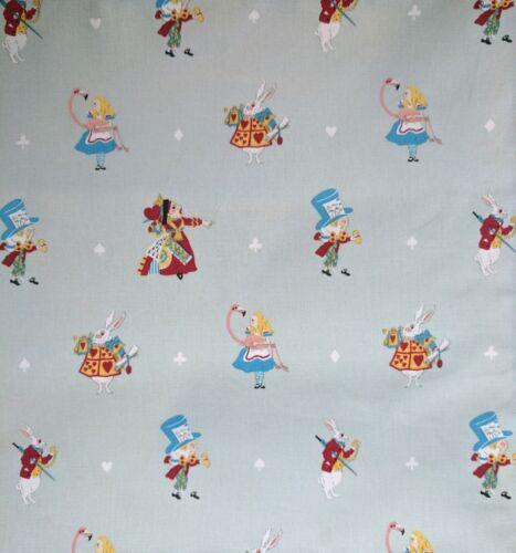 Sophie Allport Alice in Wonderland Fabric Remnant Fat Quarter 55 x 50cm