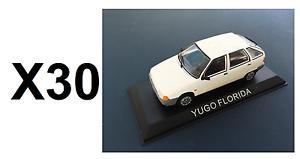 Comercio al por mayor de 30 coches 1 43 yugo florida-DIECAST wholesale lot Model car 63