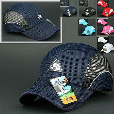 Mesh Cap KILIMANJARO Navy BLUE Hat Running Hiking Jogging Outdoor Baseball