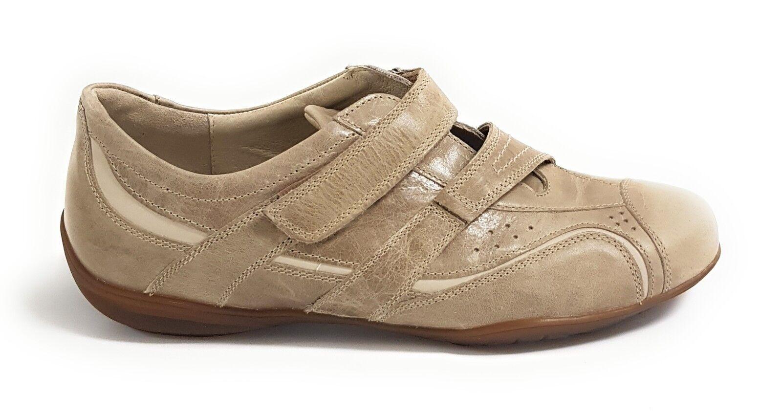 Semler Verona Damen Schuhe Sneaker Halbschuh Klettverschluss Vario-Fussbett Vario-Fussbett Vario-Fussbett b06b62